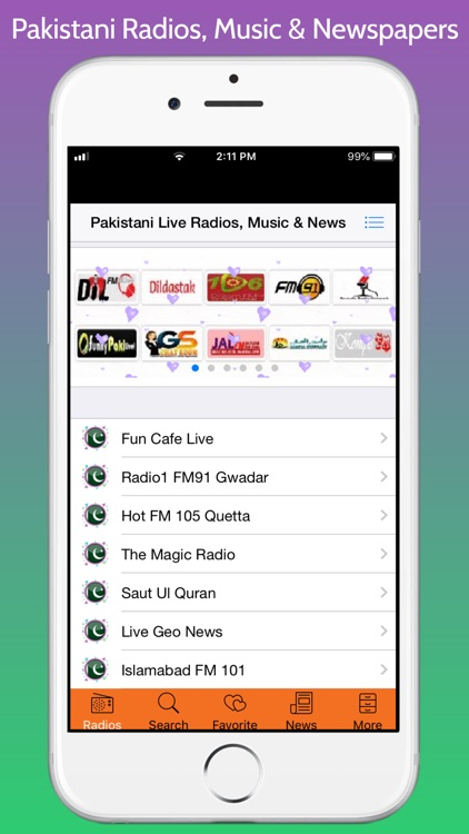 Pakistani Radios, Music & News screenshot-8
