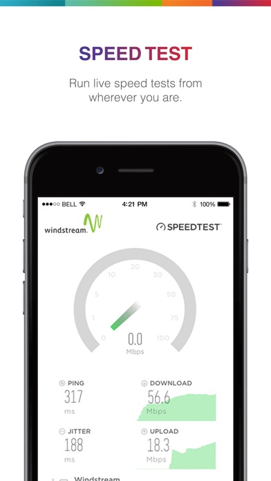 Screenshot for MyWin by Windstream in United States App Store