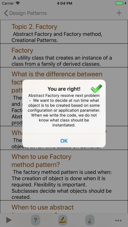 Design Patterns Interview screenshot-5