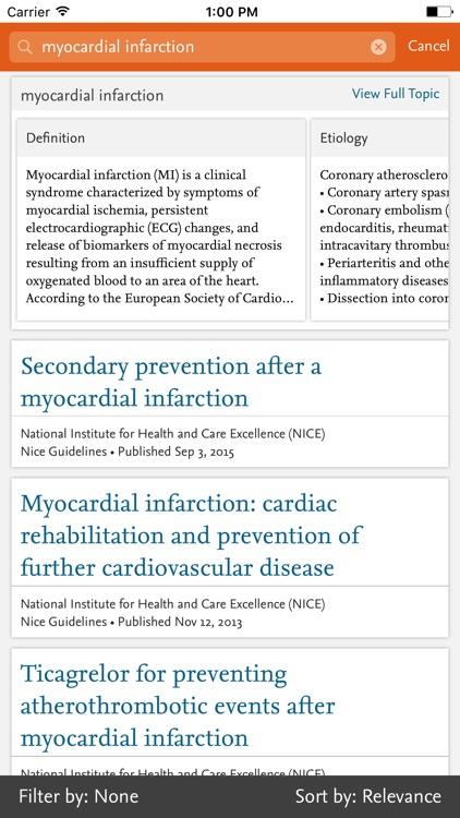 ClinicalKey screenshot-3