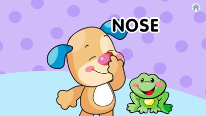 Laugh & Learn™ Where's Puppy's Nose? for Baby app image
