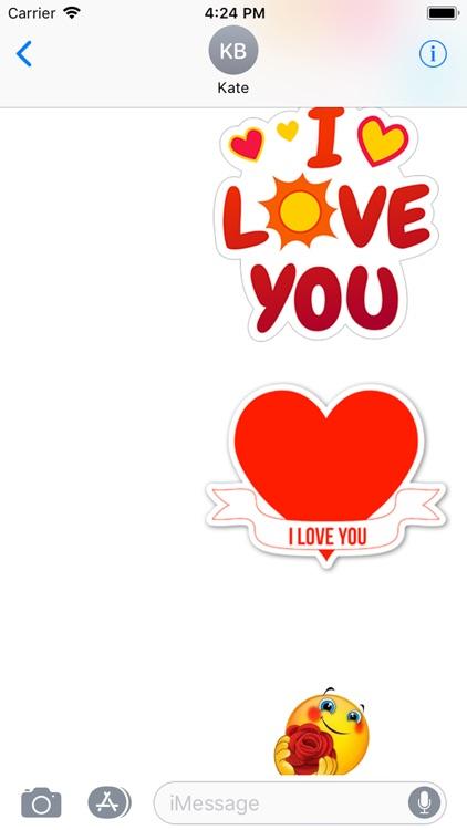 love you stickers screenshot-3