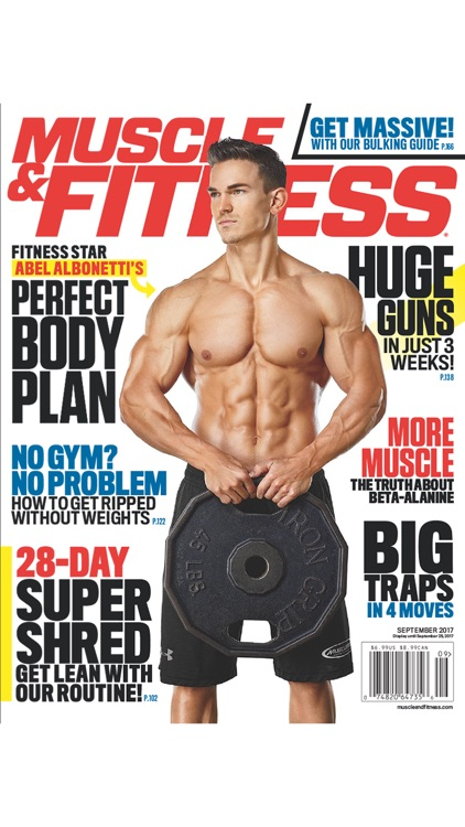 Muscle & Fitness screenshot-3