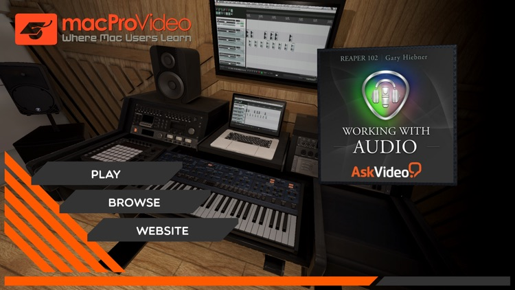 Working With Audio Course screenshot-0