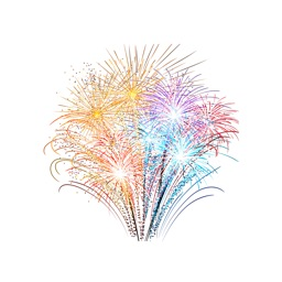 Fireworks Stickers+