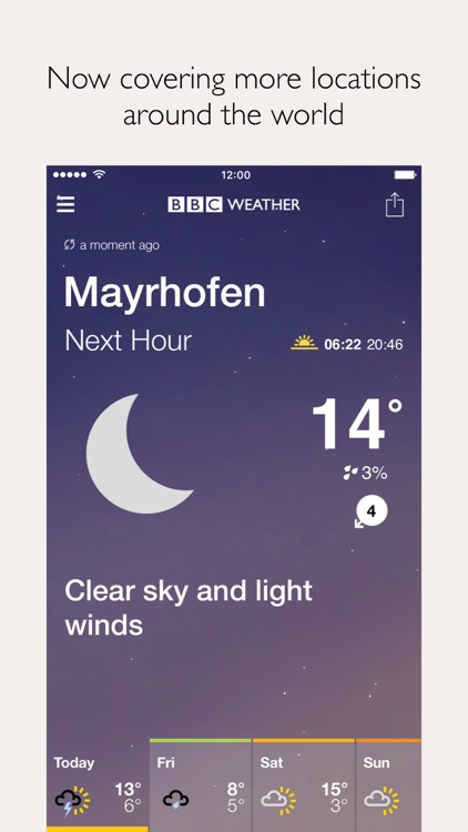 BBC Weather screenshot-1