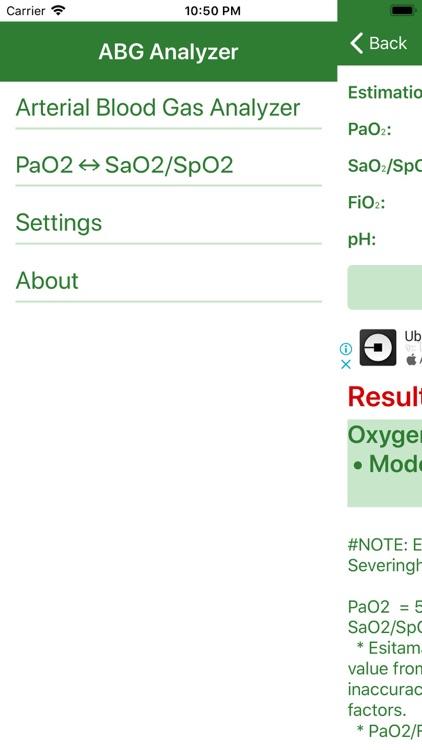 Arterial Blood Gas (Lite) screenshot-3