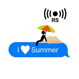 Animated Summer Silly Stickmen