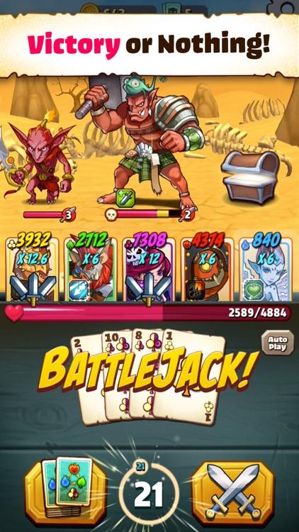 Battlejack: Blackjack RPG screenshot-0