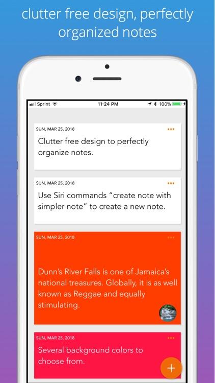 Simpler Notes - Notepad screenshot-3