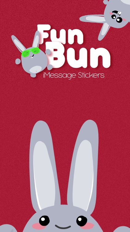 Fun Bunny iMessage Stickers