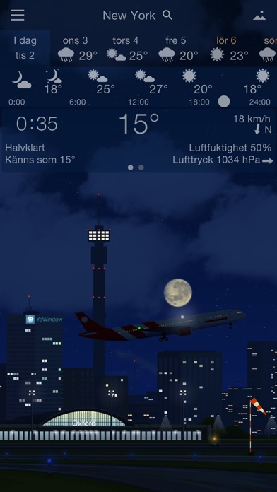 YoWindow Väder på PC