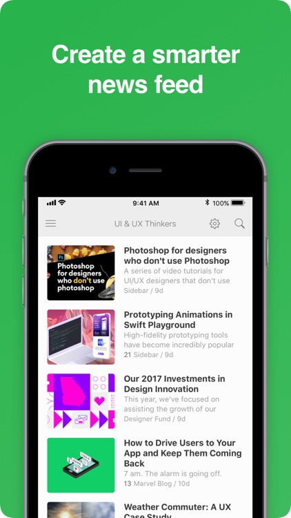 Feedly - Smart News Reader screenshot-1
