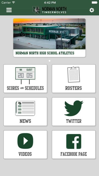 Norman North Athletics screenshot 1