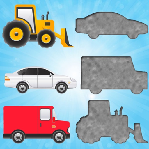Vehicles Puzzles for Toddler