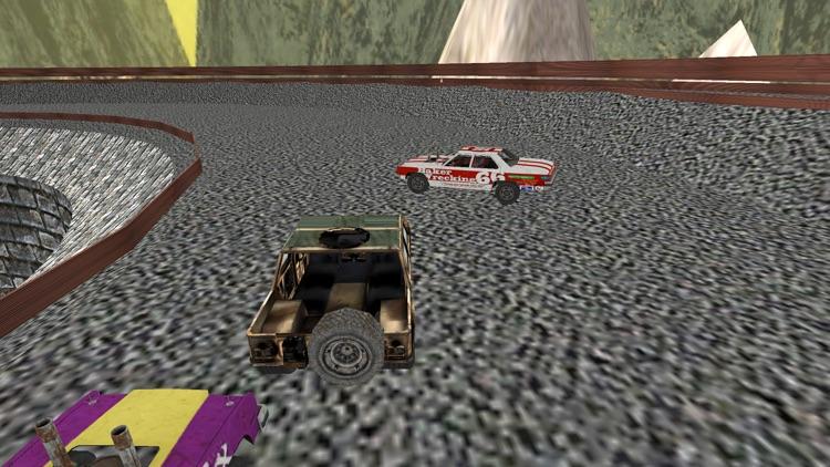 Real Demolition Derby Car Battle