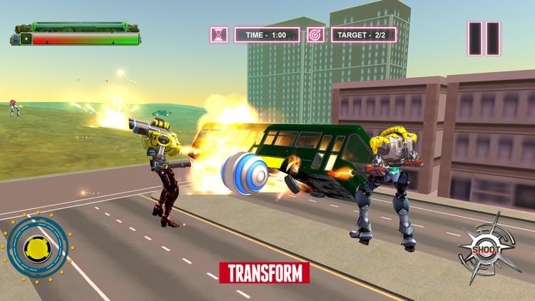 Robot Ball Transformation Game