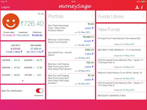 Moneysage Lite for iPad - náhled