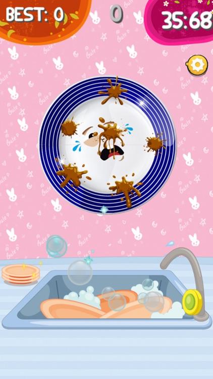 Girl Dress up & Dishwashing screenshot-5