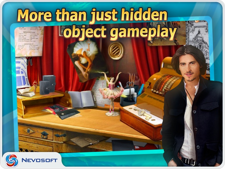 Million Dollar Quest: hidden object adventure HD screenshot-0