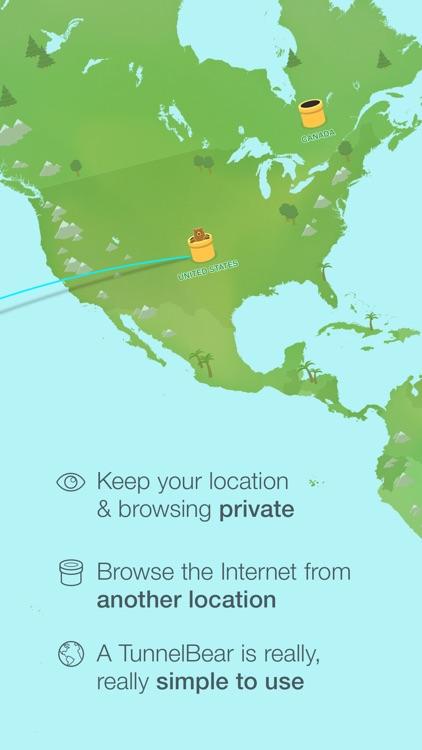 TunnelBear VPN Proxy: WiFi Security & Privacy