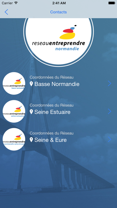 Reseau Entreprendre Normandie screenshot three