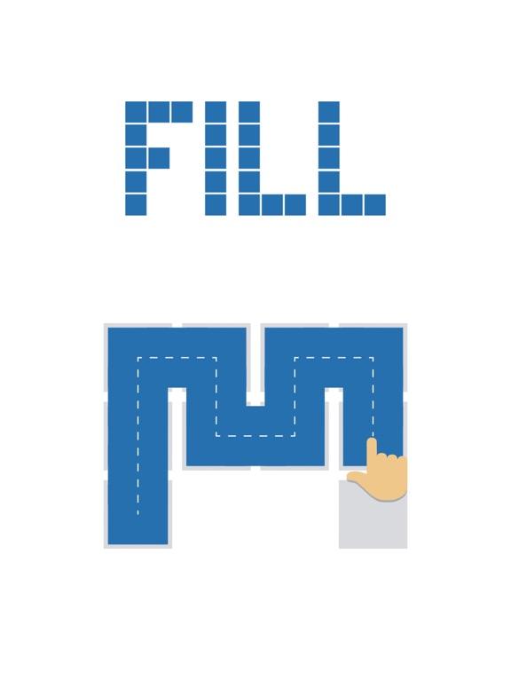Скачать игру Fill one-line puzzle game