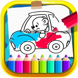 Coloring Book My Car
