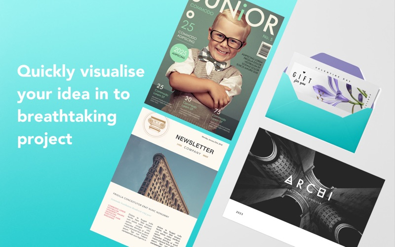 GN Bundle for iWork -Templates Screenshots