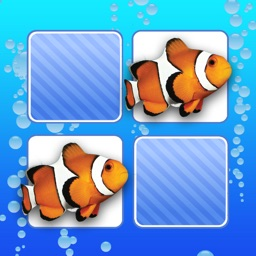 Memo Game Sealife Photo for kids and toddlers
