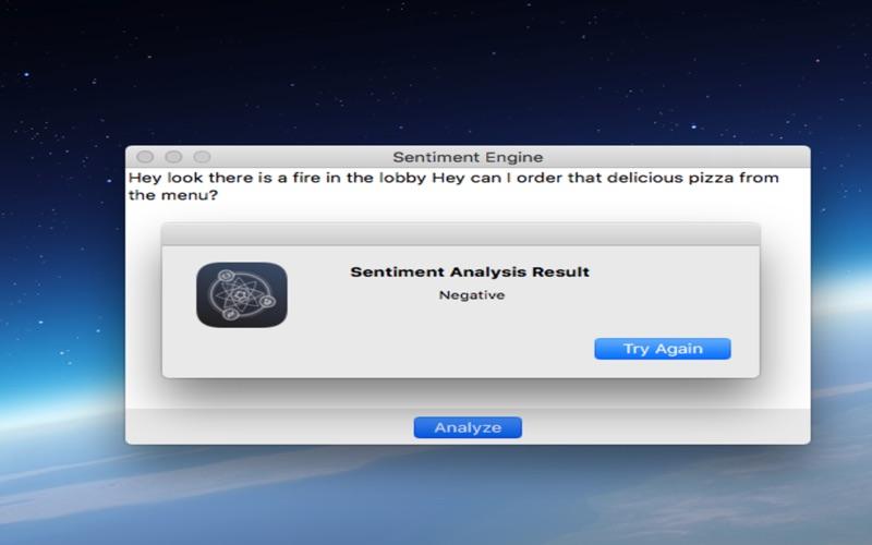 Sentiment Analysis Engine скриншот программы 2