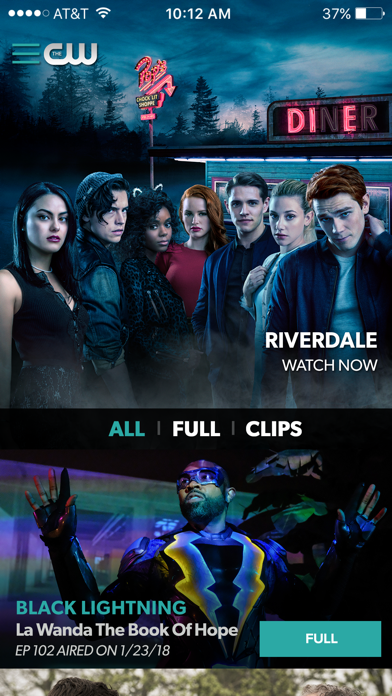 download The CW apps 2