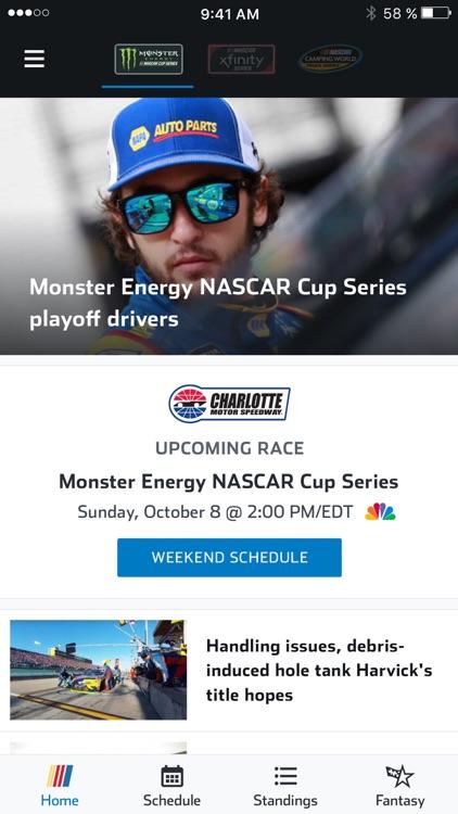 NASCAR MOBILE screenshot-3