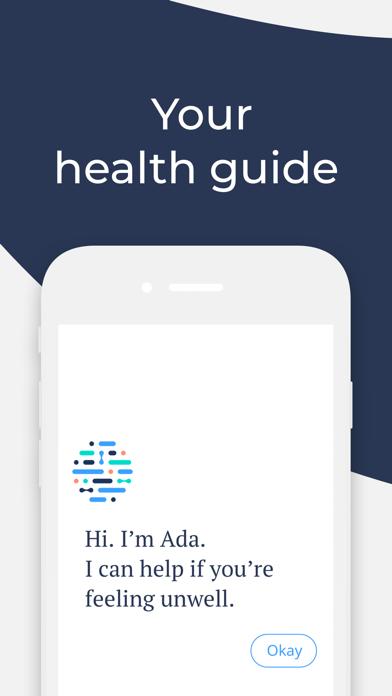 Screenshot for Ada - Your Health Guide in Denmark App Store