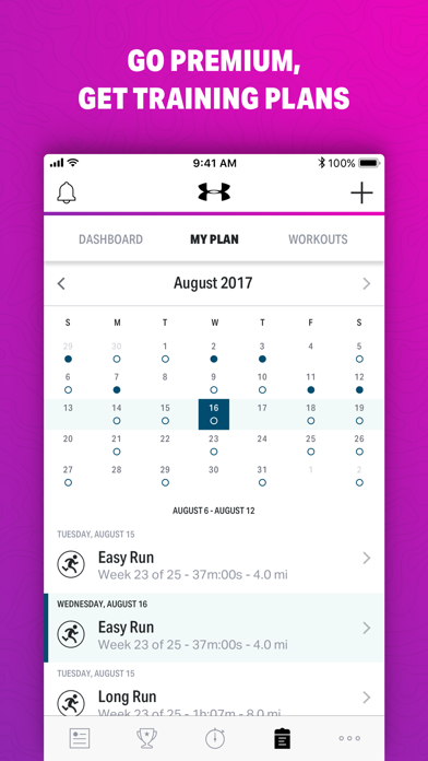 Map My Walk+ by Under Armour Screenshots