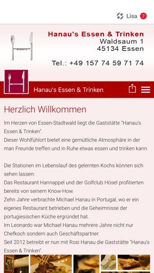 Hanau\'s Essen & Trinken im App Store