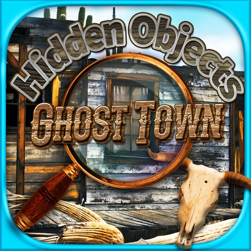 Hidden Objects Ghost Town Time