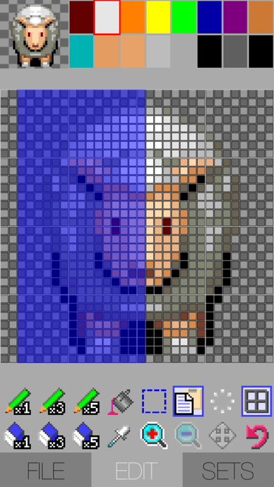 Dotter – smart dot picture editor screenshot two