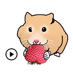 Animated Cute Hamster Hamsmoji