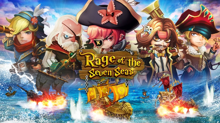Rage of the Seven Seas screenshot-0