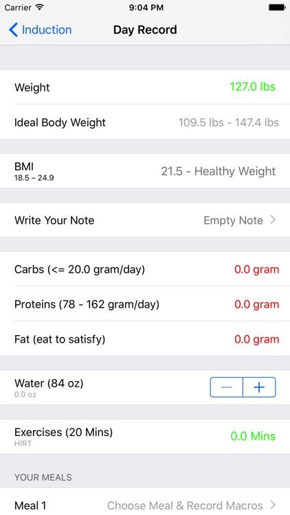 Atkins Diet Macros Tracker screenshot-4