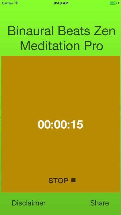 Binaural Zen Meditation Pro screenshot-4
