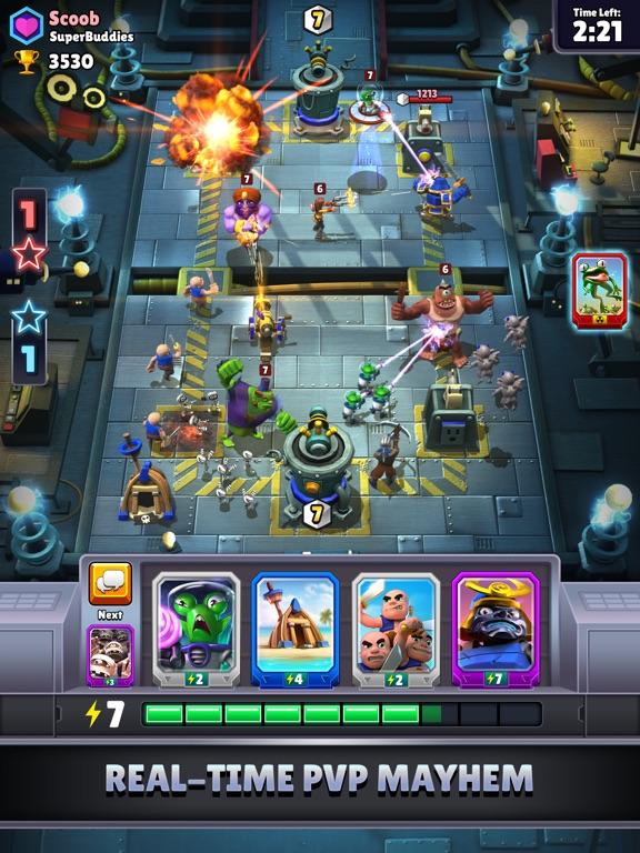 Chaos Battle League на iPad