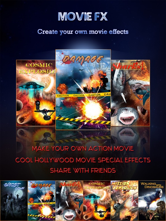 Effects Camera - Action Movie-ipad-0