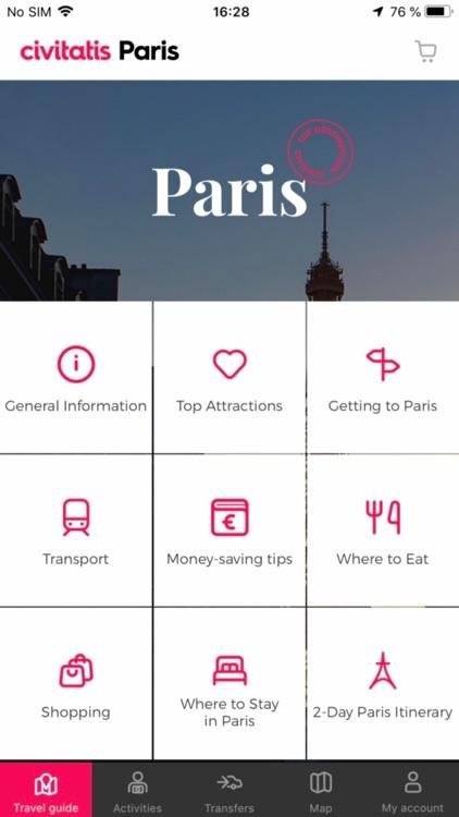 Paris Guide Civitatis