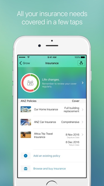 Grow by ANZ: banking, insurance, super & investing screenshot-4