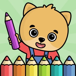 Baby coloring book for kids 2+ on the App Store