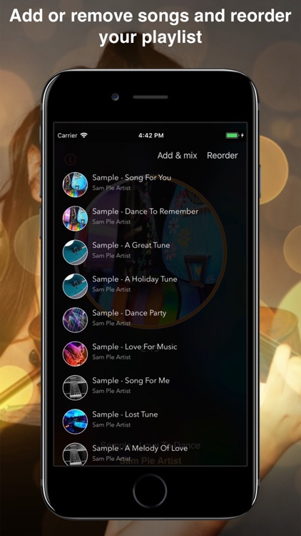 Impuls Music: smart playlists screenshot-4