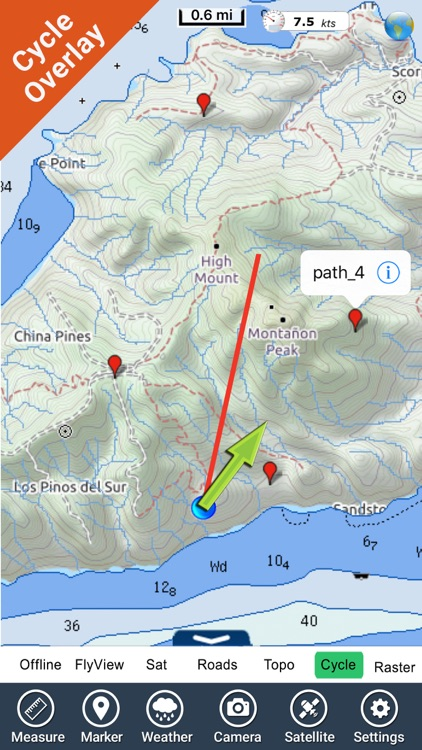 Channel Islands NP GPS charts screenshot-0