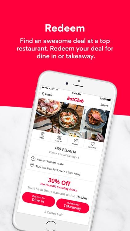 EatClub- Live Restaurant Deals